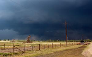 Short-lived tornado
