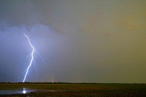 May 26, Lightning and Rainbows