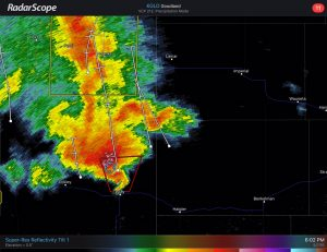 Wray, CO 050716 Radar